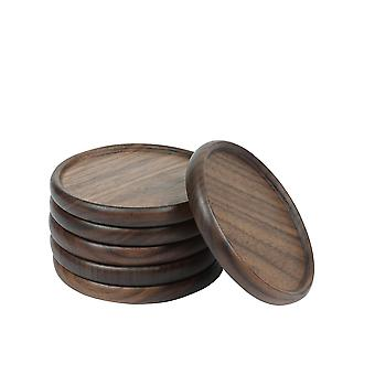 Swotgdoby Drink Coasters Set Of 6 - Tabletop Protection For Any Table Type, Wood, Granite, Glass, Soapstone, Sandstone, Marble, Stone Tables - Perfect