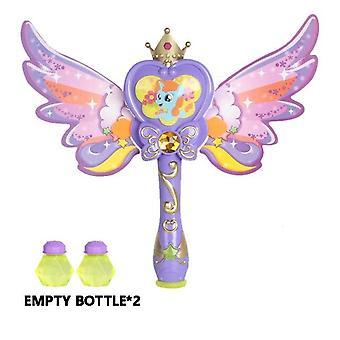 Kids Magic Wand Cute Pony Party Water Bubble Machine Gun Blower Toy Electric Magic Wedding