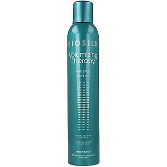 Strong Hold Hair Spray Biosilk Volumizing Therapy Farouk (284 g)