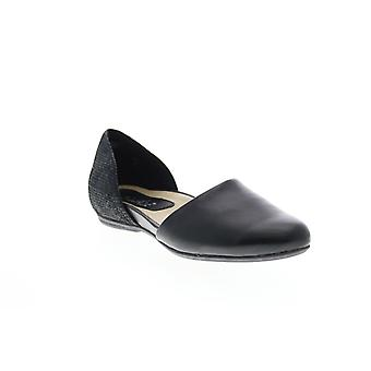 Earthies Adult Womens Brie Soft Leather Mules Flats
