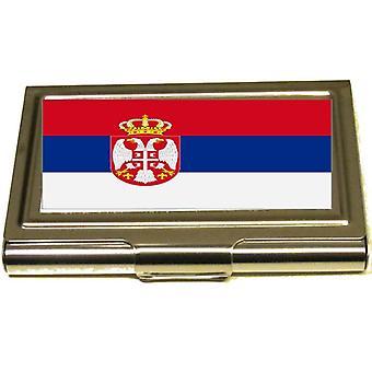 Korthållare  - Serbien flagga