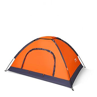 Tent Outdoor Tent Beach Tent Automatic Quick Opening Camping Tent Thickened Rainproof Wild Tent Double Tent Sun Shading Tent Hl-0101