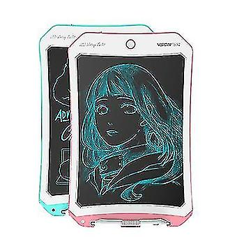 8,5 tuuman LCD-piirustuslauta, älykäs käsinmaalattu taulu lasten graffitien kirjoittamiseen (Vaaleanpunainen+valkoinen)