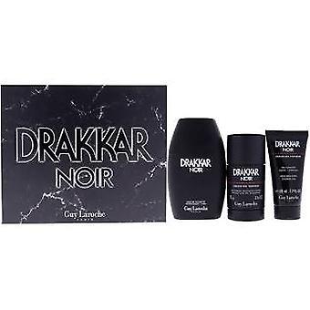 Guy Laroche Drakkar Noir Presentset 100ml EDT + 50ml Duschgel + 75g Deodorant Stick