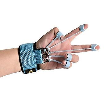 Finger gripper strength trainer extensor exerciser finger flexion and extension training device with