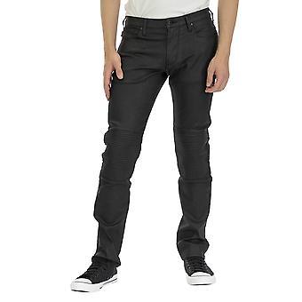 Emporio Armani Men 5 Pockets Pants Regular fit Ankle lenght  Black