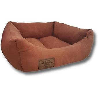 Cama para perros - S - perro pequeño - 50 x 40 cm - marrón - cama para perros