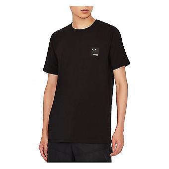 Armani Exchange A x Jersey T Skjorta Svart