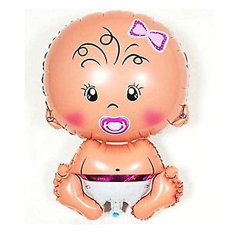 XL BABY BOY GIRL FOLIE BALLON FÜR BABY SHOWER TAUFE NEUGEBORENE GEBURTSTAG PARTY BALLONS (3. BABY