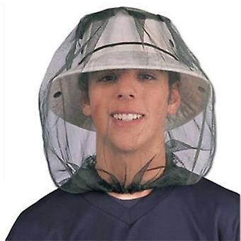 मिज मच्छर कीट कीट टोपी बग जाल सिर नेट चेहरा रक्षक यात्रा डेरा डाले हुए