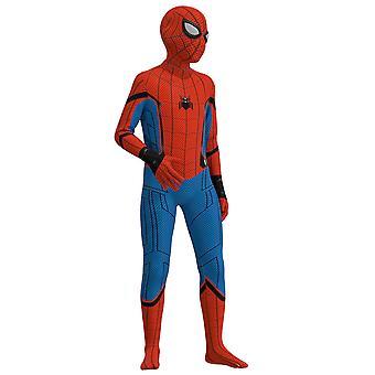 Spider-man Clothes Children's One-piece Tights Suit Halloween Costumes (110-150cm)