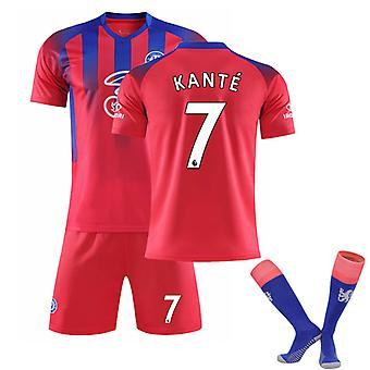 Kante #7 Jersey 2021-2022 Nouvelle saison Hommes Chelsea F.c. T-shirts de football Ensemble de maillots
