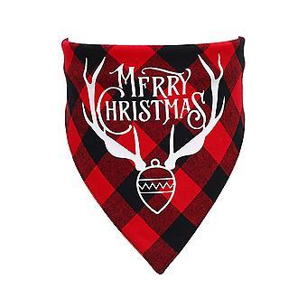 Premium Christmas Dog Bandanas,triangular Dog Bandana,christmas,classic, A