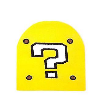 Nintendo Super Mario Fragezeichen Beanie gelb (KC170203NTN)