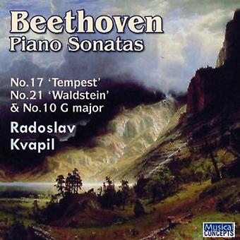 Radoslav Kvapil (Piano) - Beethoven:Piano Sonatas Nos. 10 17 & 2 [CD] USA import