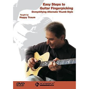 Easy Steps to Guitar Fingerpicking [DVD] USA import