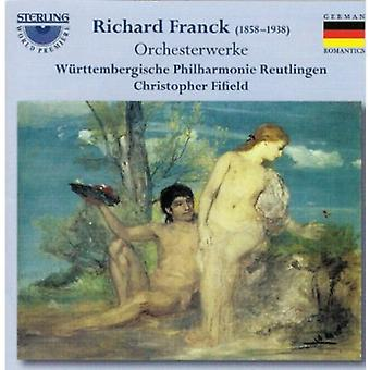 R. Franck - C Sar Franck: Symphonische Fantasie, Op. 31 [CD] USA import