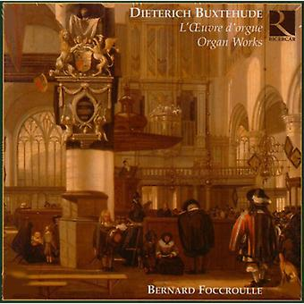 D. Buxtehude - Buxtehude: Organ Works [CD] USA import