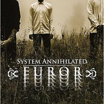 System Annihilated - Furor [CD] USA import