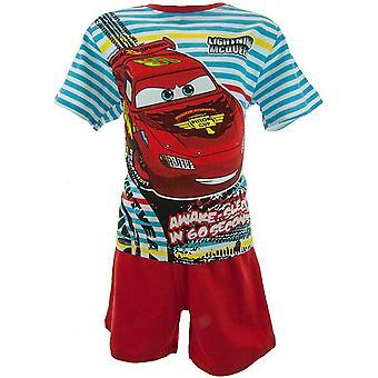 Chłopcy Disney Auta McQueen Shortie Piżama OE2021