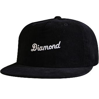 Diamond Supply Co City Script Snapback Black