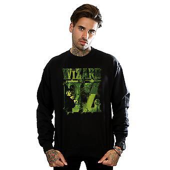 The Wizard Of Oz Men's Wicked Witch Logo Sweatshirt