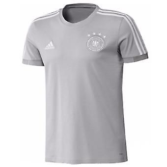 2018-2019 Германии Adidas подготовки тройник (серый)