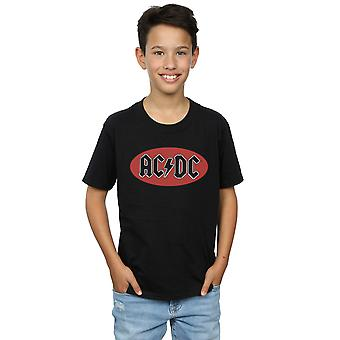 AC/DC Boys Red Circle Logo T-Shirt