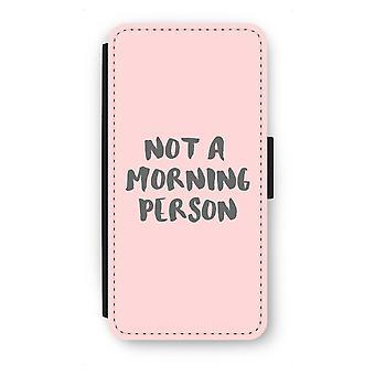 Samsung Galaxy S7 Edge Flip Case - Morning person