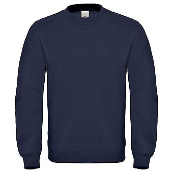 B&C Mens Crewneck sweatshirt with Fleece brushed inside