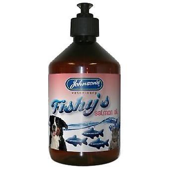 Johnsons Dog Fishy's Salmon Oil, 500 ml