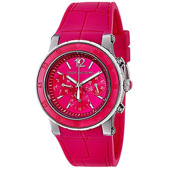 Juicy Couture HKK vaaleanpunainen lohikäärme hedelmät Chronograph Ladies Watch 1900897