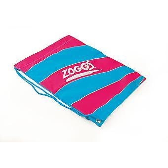 Zoggs junioren jongens & meisjes handig trekkoord Avondtasje Ruck zak roze - 43.5x33.5 cm
