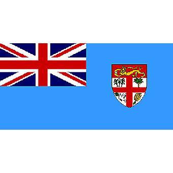 Fidžin lippu 5 jalkaa x 3 ft jossa ripustamista varten