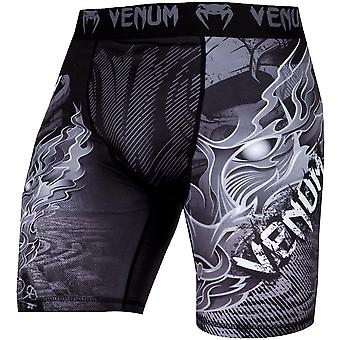 Venum Minotaurus Dry Tech Compression Shorts - Black/White