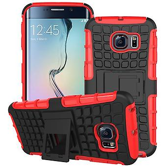 Hybrid case 2 piece SWL robot red for Samsung Galaxy S6 edge plus SM G928 F