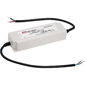 Mean Well LPV-150-24 TRANSFORMADOR LED Tensión constante 151 W 0 - 6.3 A 24 V DC no regulable, Protección contra sobretensiones