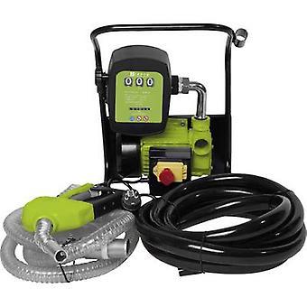 Zipper Electric diesel & fuel oil pump 230 V 2400 l/h PG connector, Counter