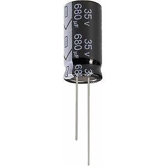 Condensador electrolítico de Jianghai ECR1JGC221MFF501220 Radial plomo 5 mm 220 μF 63 V 20% (Ø x H) 12,5 x 20 mm 1 PC
