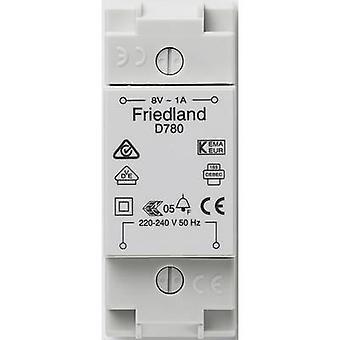 Friedland D780 Bell Transformer 8 V AC 1 A