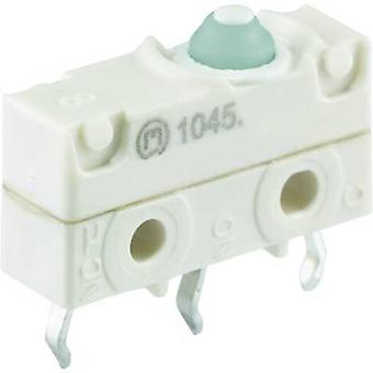 Marquardt Microswitch 1045.2702-00 250 V AC 10 a 1 x On/(On) IP67 momentan 1 computer(e)