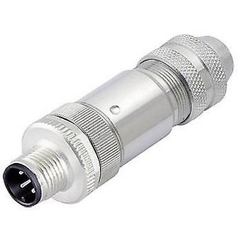 Carpeta del 99-1429-812-04 serie 713, Sensor / actuador Plug conector M12, cierre de tornillo, recto