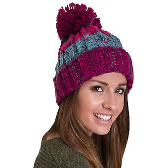 Outdoor Look Womens/Ladies Reay Knitted Pom Pom Beanie Hat