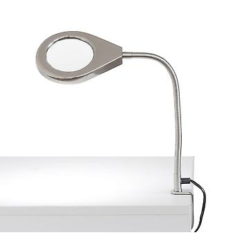 Lamp with magnifying glass Magnifier light AGDA C LED daylight 4,5W 4