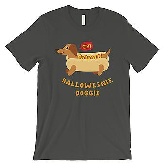 Doggie Halloweenie Mens Cool T-Shirt gris