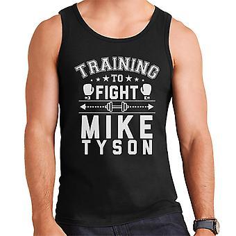 Training To Fight Mike Tyson Men's Vest
