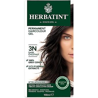 Herbatint, Dark Chestnut Hair Colour 3N, 150ml