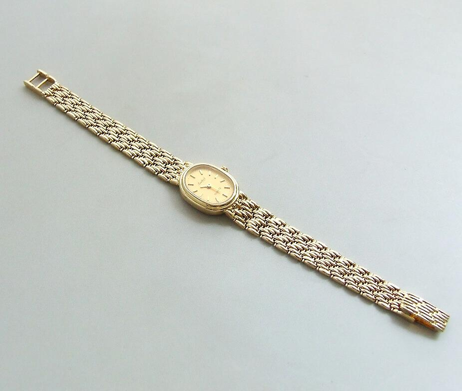 Yellow Gold Bouchard watch