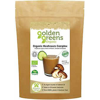 Golden Green Organic Organic Mushroom Complex Powder 50g
