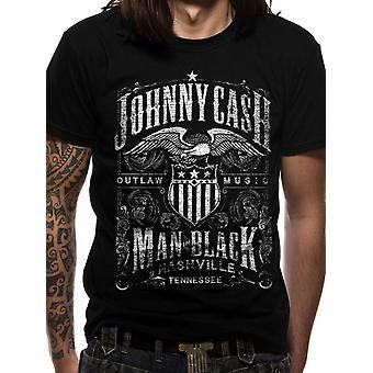 Johnny Cash-label T-shirt